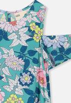 Cotton On - Ruby cold shoulder dress - multi