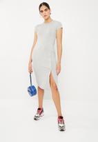 Superbalist - Popper tee dress - grey