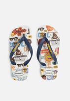 Havaianas - Kids emoji sandals white
