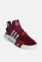 adidas Originals - EQT bask ADV - noble maroon, grey two f17 & ftwr white