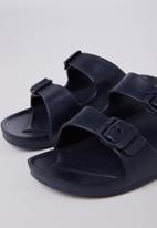 Cotton On - Twin strap slide - navy