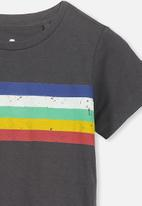 Cotton On - Max short sleeve tee - charcoal