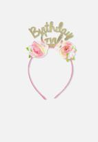 Cotton On - Novelty headband - pink