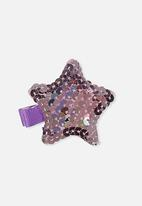 Cotton On - Fashion hair clips - purple