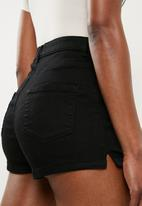 Missguided - Vice tube short - black