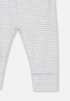 Cotton On - Newborn legging - grey