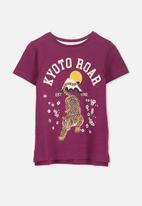 Cotton On - Anna short sleeve  tee - purple