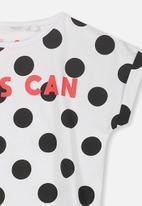 Cotton On - Penelope short sleeve  - black & white