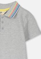 Cotton On - Blaire polo dress - grey