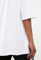 Missguided - Oversized T-shirt - white