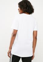 Missguided - Tokyo floral T-shirt - white