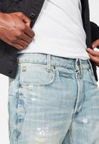 G-Star RAW - Staq 3D straight tapered jeans - blue