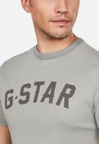 G-Star RAW - Graphic tee - grey