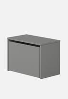 Clever Little Monkey - Play bench and storage box - urban grey