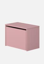 Clever Little Monkey - Play bench and storage box - rose