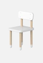 Clever Little Monkey - Play chair - white