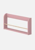 Clever Little Monkey - Play display shelf - rose