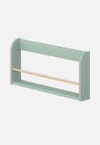 Clever Little Monkey - Play display shelf - mint