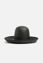Superbalist - Tall crown holborn hat - black