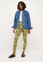 Missguided - Oversized denim jacket - blue