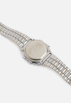 Casio - Digital wrist watch A168WEM-2DF-silver