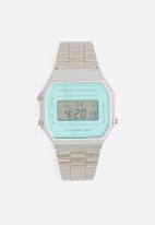 Casio - Digital wrist watch A168WEM-2DF-silver