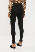 Superbalist - Military detail jeans - black