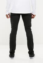 Superbalist - Skinny jeans abrasions - black