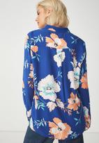 Cotton On - Rebecca summer shirt - blue