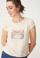Cotton On - Tbar friends graphic - pink