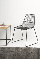 U3 - Griffin chair - black