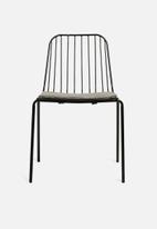 U3 - Vega chair - black