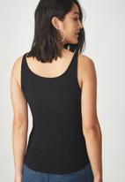 Cotton On - Everyday summer femme tank - black