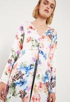 Superbalist - Slit detail maxi blouse - multi