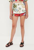 Missguided - Floral shorts - multi