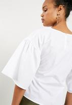 Superbalist - Poplin blouse - white