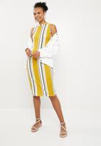 Superbalist - Bodycon dress - yellow