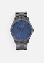 Superbalist - Sheldon chain strap watch - black