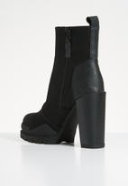 G-Star RAW - Rackam heel boot women - black