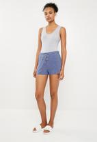 Cotton On - Super soft lounge short - blue