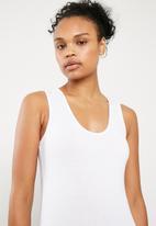 Superbalist - Scoop neck 2 pack bodysuit - grey & white