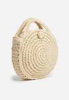 Superbalist - Round straw bag - natural