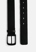 Superbalist - Rumi-leather belt - black