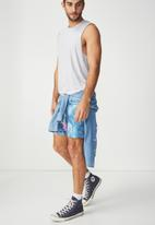Cotton On - Basic swim shorts - blue