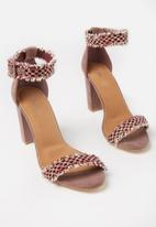 Cotton On - San brigette heel - pink