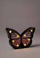Typo - Shaped mini marquee light - butterfly