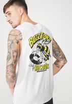 Cotton On - Tbar muscle tee - white