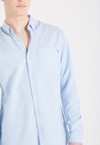 Cotton On - Brunswick long sleeve shirt  - blue