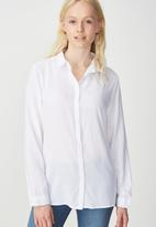 Cotton On - Rebecca summer shirt - white