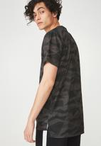 Cotton On - Coar active tee - charcoal